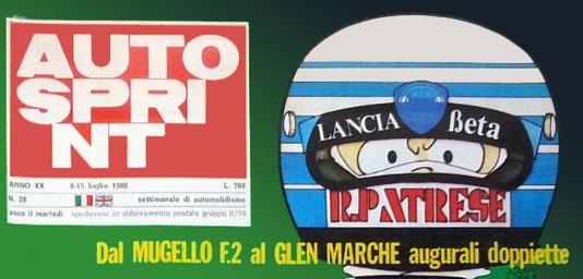 Riccardo Patrese en Autosprint by Muneta & Cerracín