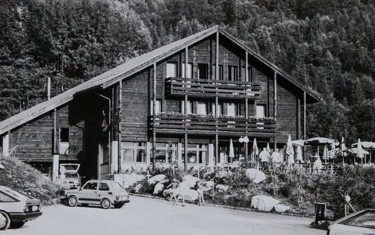 """Der Gasthof """"Rhodannenberg"""" wurde 1983 eröffnet  Foto. Jakob Kubli"""