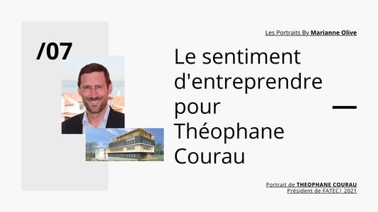 Portrait Theophane Courau Marianne Olive