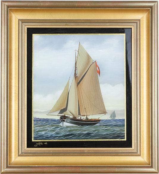 Sailing Ship, Art Déco Wiesbaden Regine Schmitz-Avila