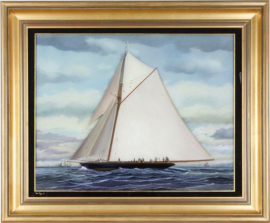 Sailing-Boat, Art Déco Wiesbaden Regine Schmitz-Avila