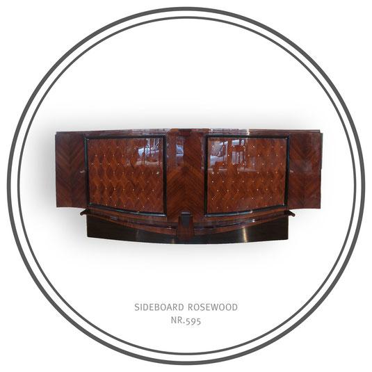 Sideoboard Rosewood, Art Déco Wiesbaden Regine Schmitz-Avila