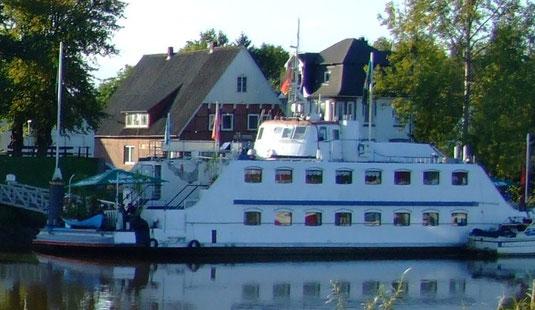 Foto vom Restaurantschiff Ostekieker