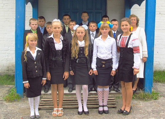 8-Б клас, класний керівник Савонюк Анастасія Платонівна