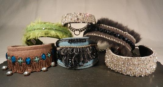 Extravagante Hundehalsbänder von Annassa