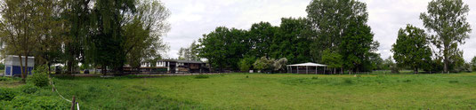 Mocha Oak Ranch Reitplatz und Roundpen