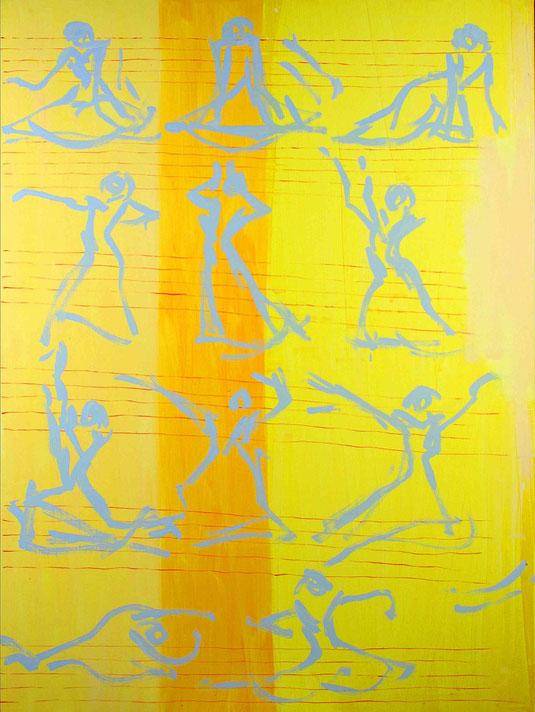 """""""Erwachen"""" Öl auf Leinwand 90 x 120 cm"""