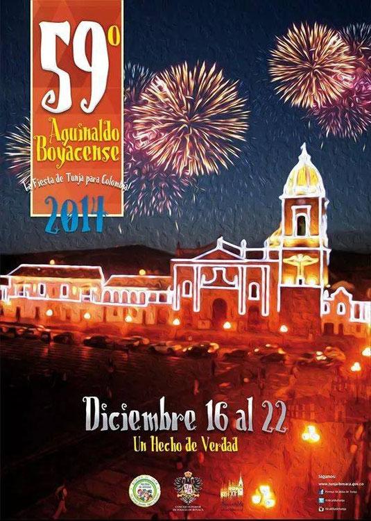 La fiesta grande de Boyacá para Colombia-Diciembre 16 al 22 - BOYACÁ