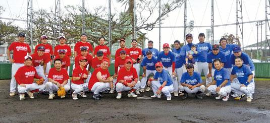八重山出身者が集い野球を通して親睦を図った桟橋通りベースボールクラシック