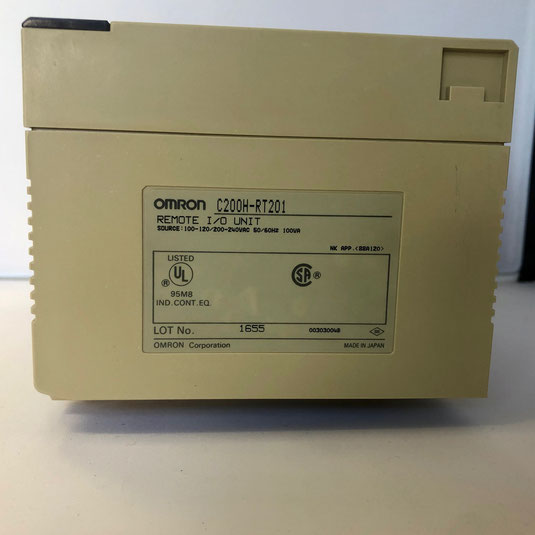 The OMRON programmable controller remote I/O  unit, Type: C200H-RT201