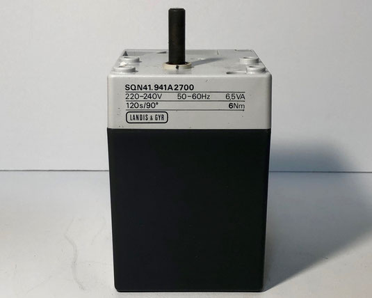 SIEMENS - Landis & Gyr servomotor, Type: SQN41. 941A2700