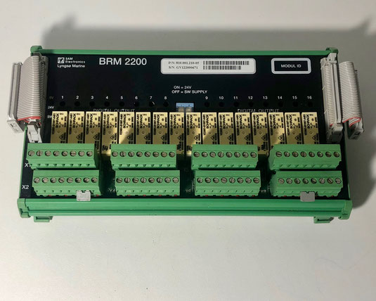 Sam Electronics - Lyngso Marine binary relay module, Type: BRM 2200