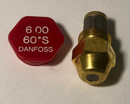 Danfoss Nozzle 6.00, 60 S