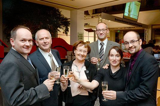 Pressefoto Unternehmenspreis-Gewinner 2013