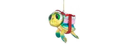 Schildkröte mit Geschenk