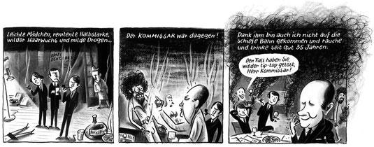 """""""Der Kommissar"""" - STRAPAZIN #112"""
