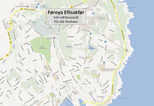 Føroya Ellisakfør - Yviri við Strond 20 - Box 3005 - 110 Tórshavn