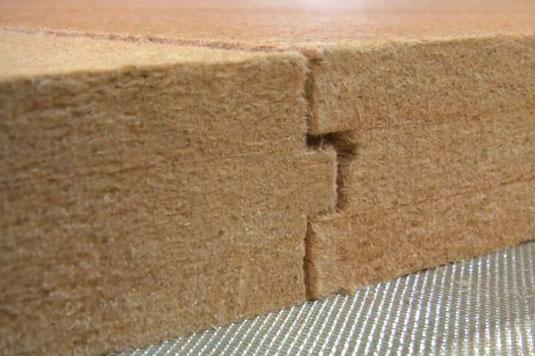 Detail zu Holzfaserplatte