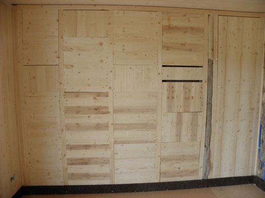 Verwendung von 3-Schicht-Massivholzplatten anstelle von OSB-Platten