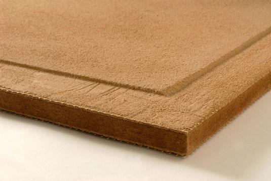 Haga Naturbo Lehmbauplatte (Lehmschicht auf Holzfaserplatte)