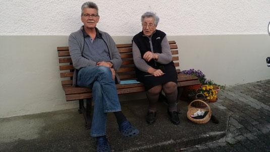 Lucie und Heinz Staub-Bitterlin, Schwiegersohn von Anita