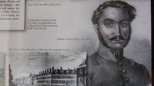 J.A.Sutter um 1840