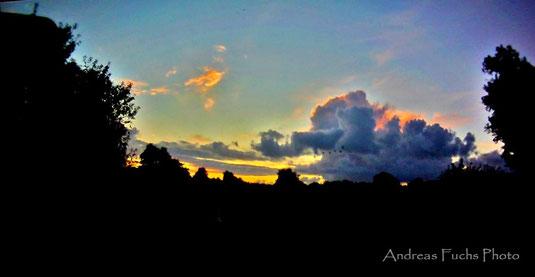 Sonnenaufgang über Kiel