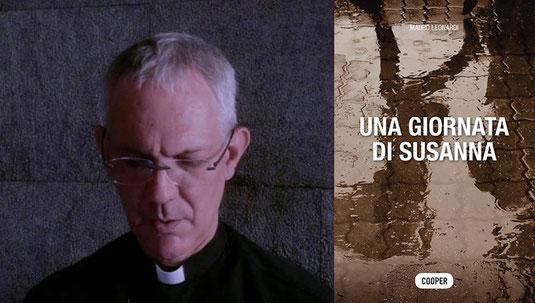 """Don Mauro Leonardi col suo ultimo romanzo """"Una giornata di Susanna"""""""
