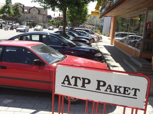 kostenlose Parkplätze bei ATP Paket in der  Schaffhauser Str.13