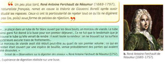 Travaux de Antoine de REAUMUR