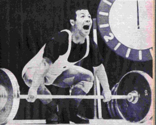 Yoshinobu Myake, OS 1964 und auch mehrfacher Weltrekordler im Reißen.