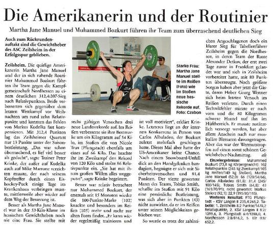 Höchster Kreiblatt vom 29.1.2014