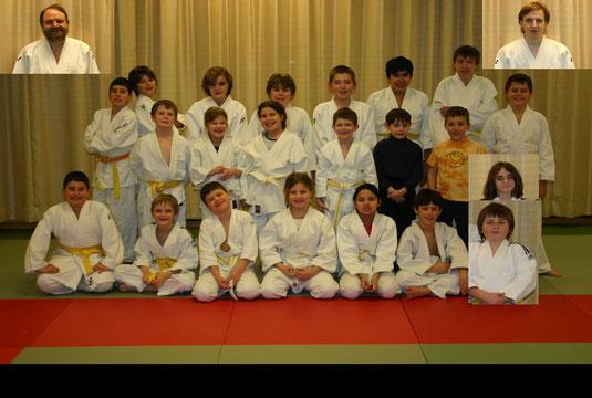 Judomannschaft 2006