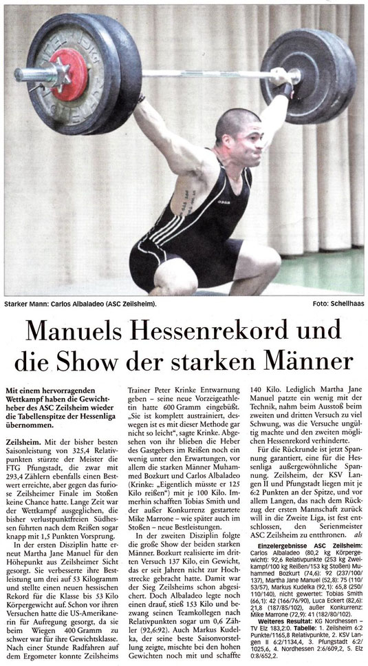 Höchster Kreisblatt vom 18.12.2013