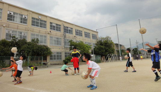 保育園・幼稚園 サッカー教室1