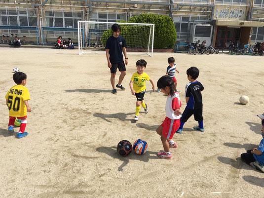 園児サッカー教室