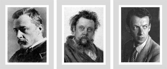 H. Wolf, M. Mussorgski, B. Britten