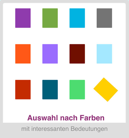Auswählen nach Farbe - Linda Thiele - Designer - Meditationskissen + ...