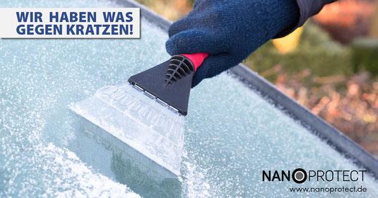 Nanoprotect Glas/Keramik – Kein Eiskratzen im Winter – Keine Insektenrückstände im Sommer