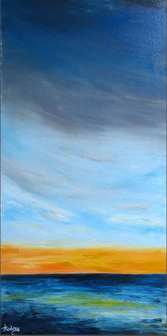 tableau-paysage-ocean-coucher-de-soleil-peinture-marine-artiste-peintre-royan-audrey-chal