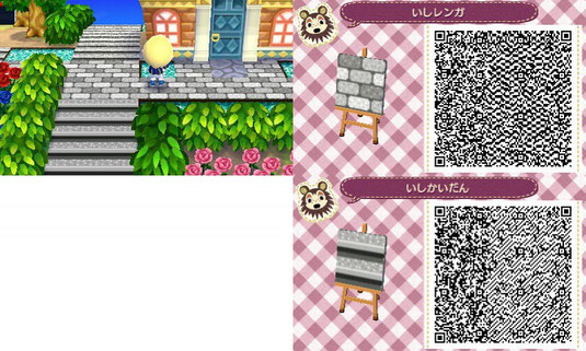 Acnl Qr Codes Bodendesigns Qr Codes Animal Crossing New Leaf