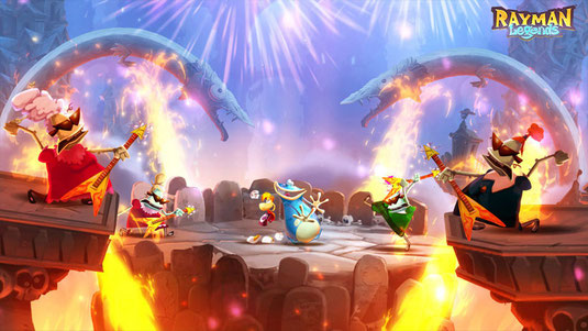 Screenshot von Rayman Legends
