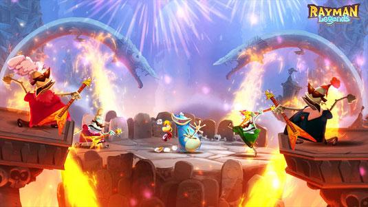 Screenshot von Rayman Legends