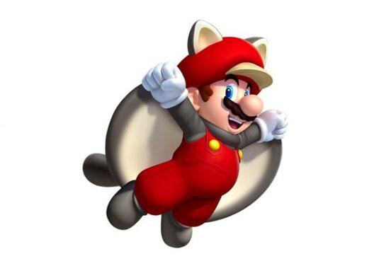 Flughörnchen-Mario