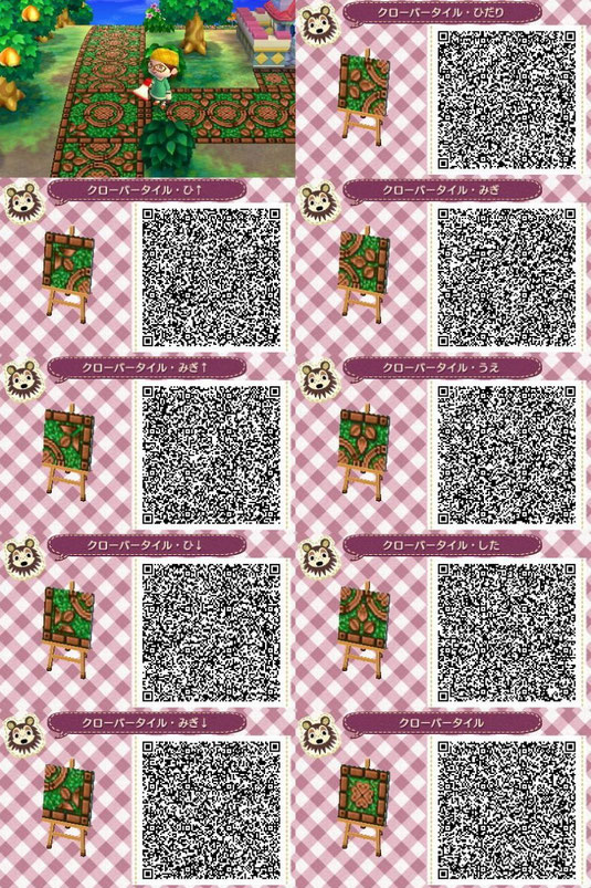 Bodendesigns Qr Codes Animal Crossing New Leaf