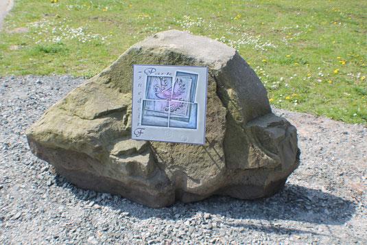 Zur Seite Friedenspark bitte auf den Stein klicken!