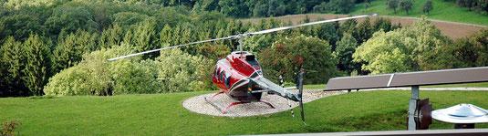 Hubschrauber Gutschein