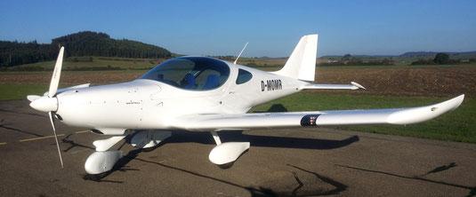 Bodensee Rundflug mit Flugzeug