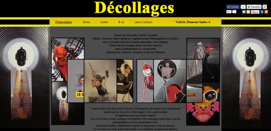 Collages Valérie Dumont-Sudre