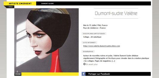 Collages Surréalisme Art actuel Valérie Dumont-Sudre